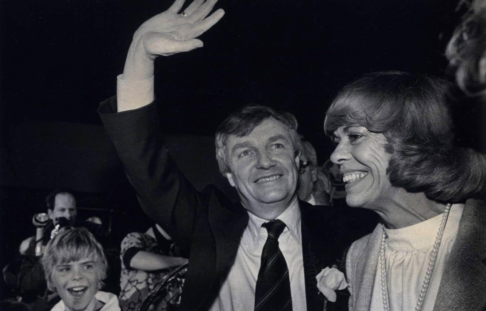 Peter et Jeanne Lougheed en 1979