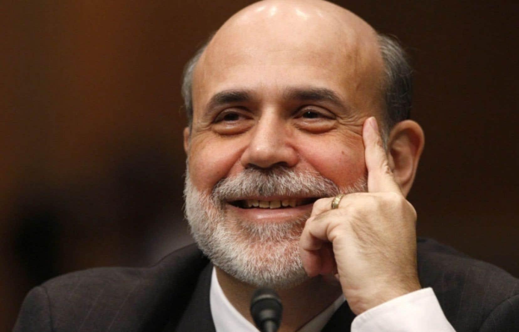 Le grand patron de la Réserve fédérale américaine, Ben Bernanke<br />