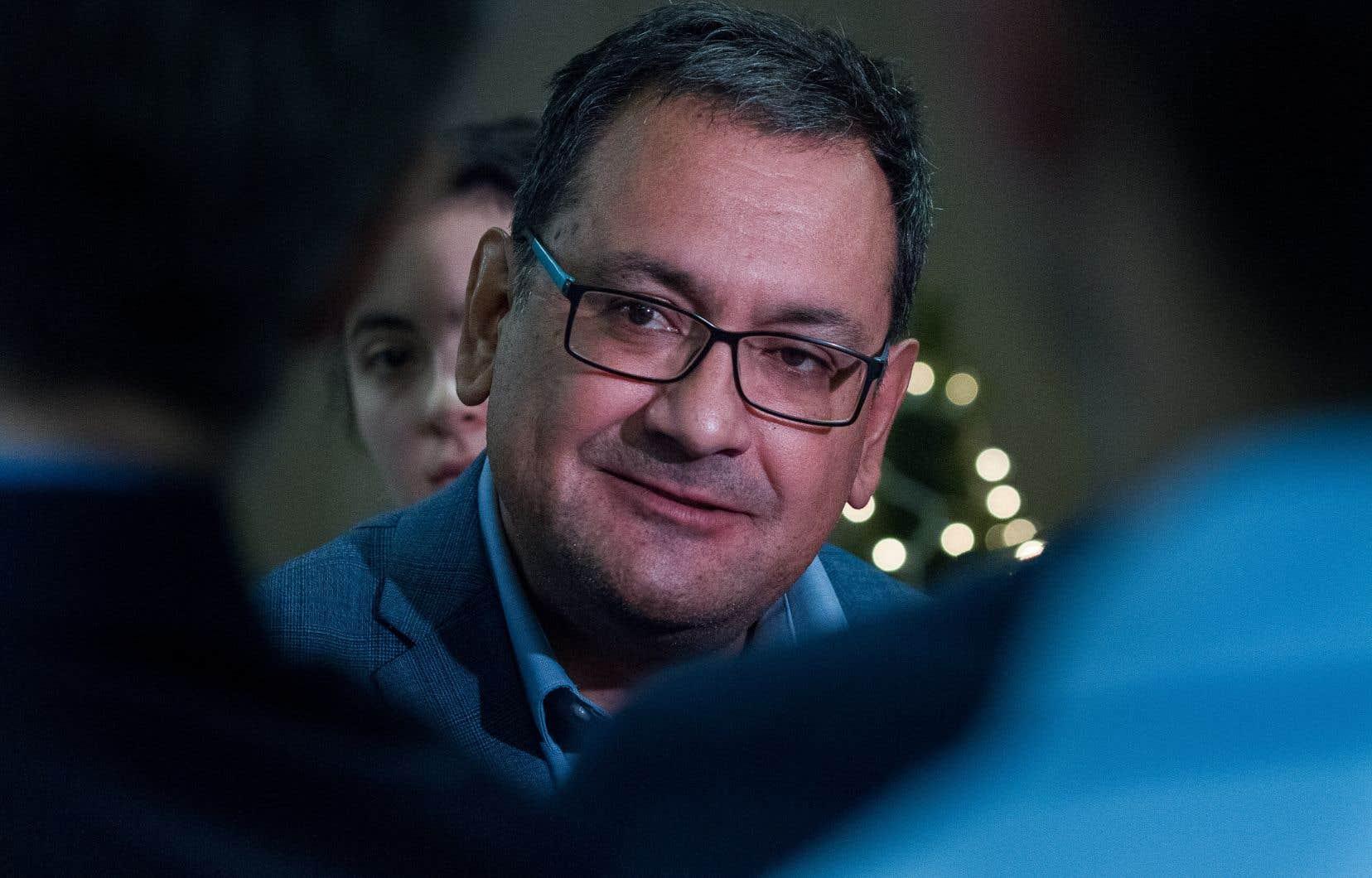 Le député solidaire de Laurier-Dorion, Andrés Fontecilla