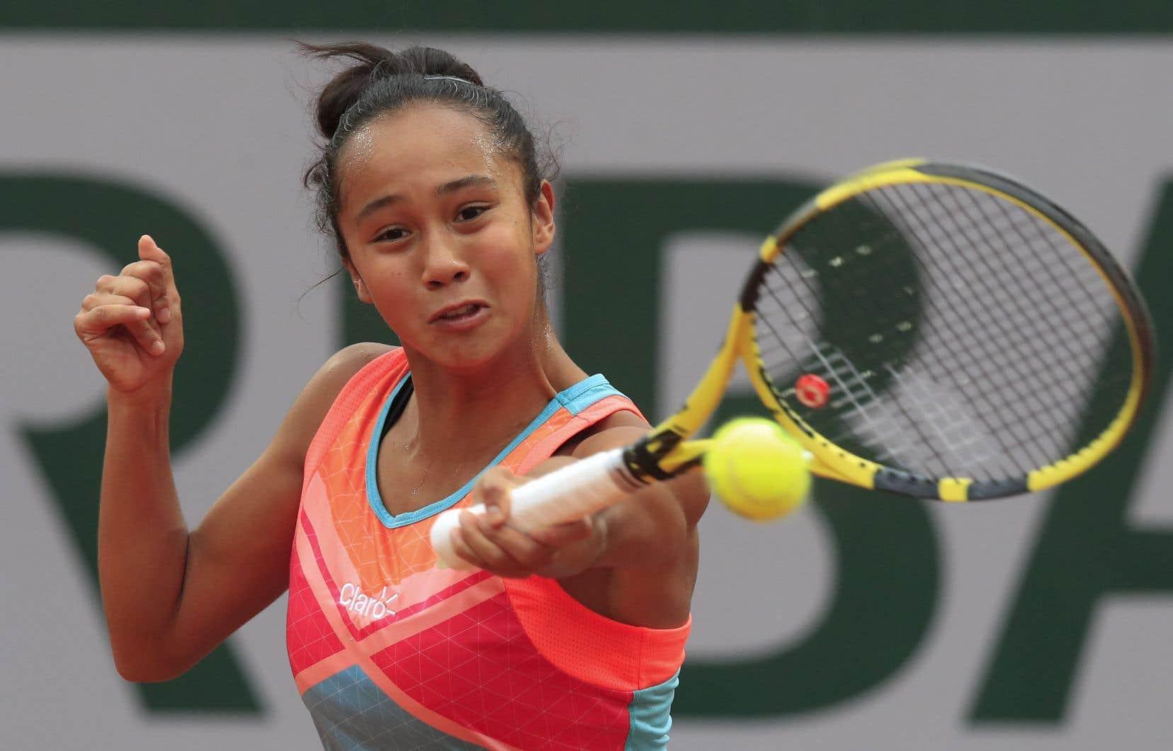 La joueuse de tennis québécoise Leylah Annie Fernandez