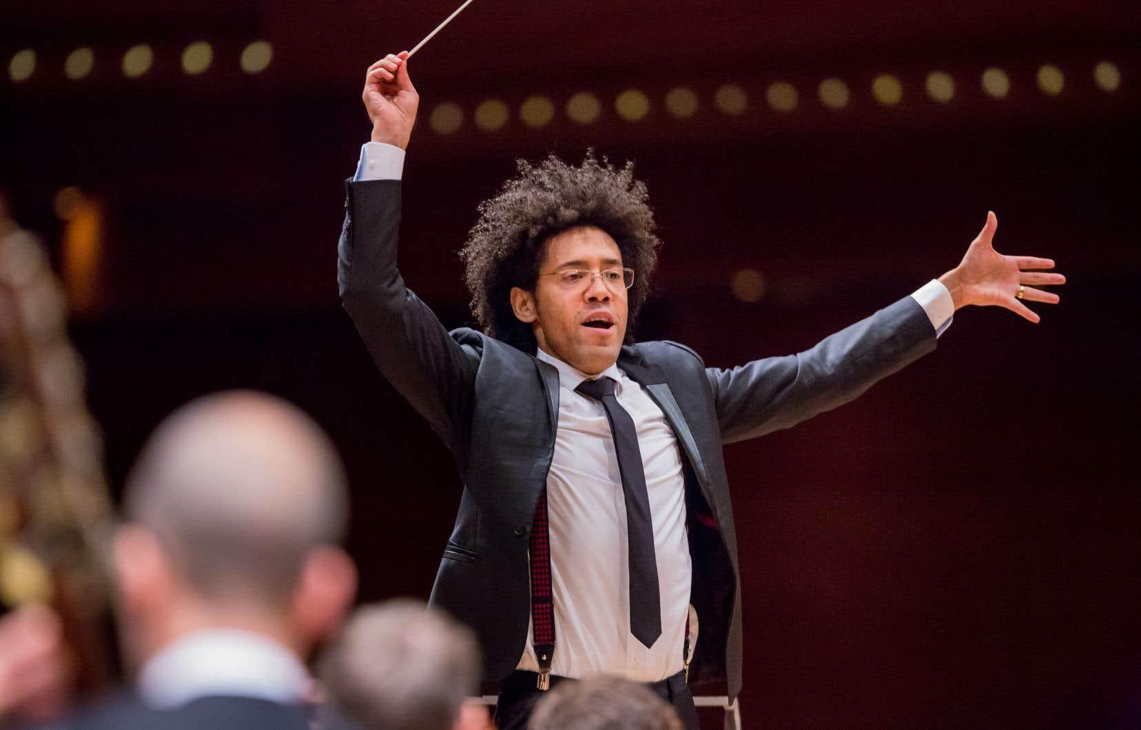 Le chef d'orchestre vénézuélien Rafael Payare
