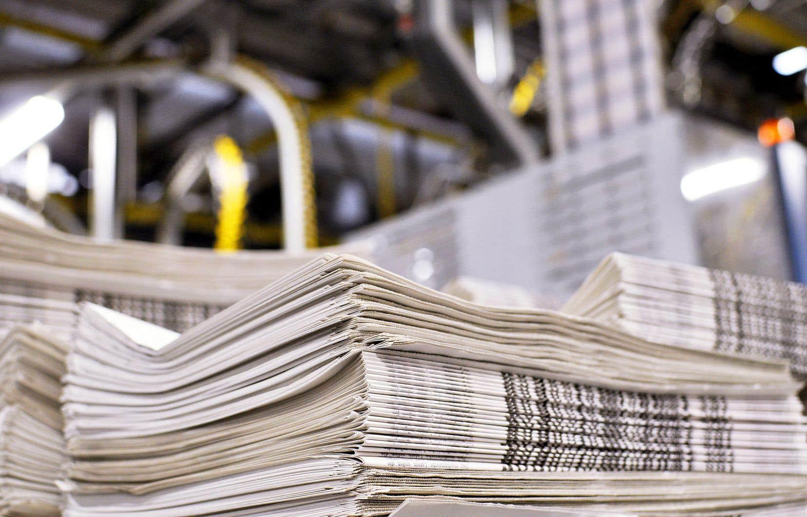 Les anciens journaux du Groupe Capitales Médias ont récemment été transformés en coopératives de travail. Une solution que le gouvernement du Québec a favorisée.