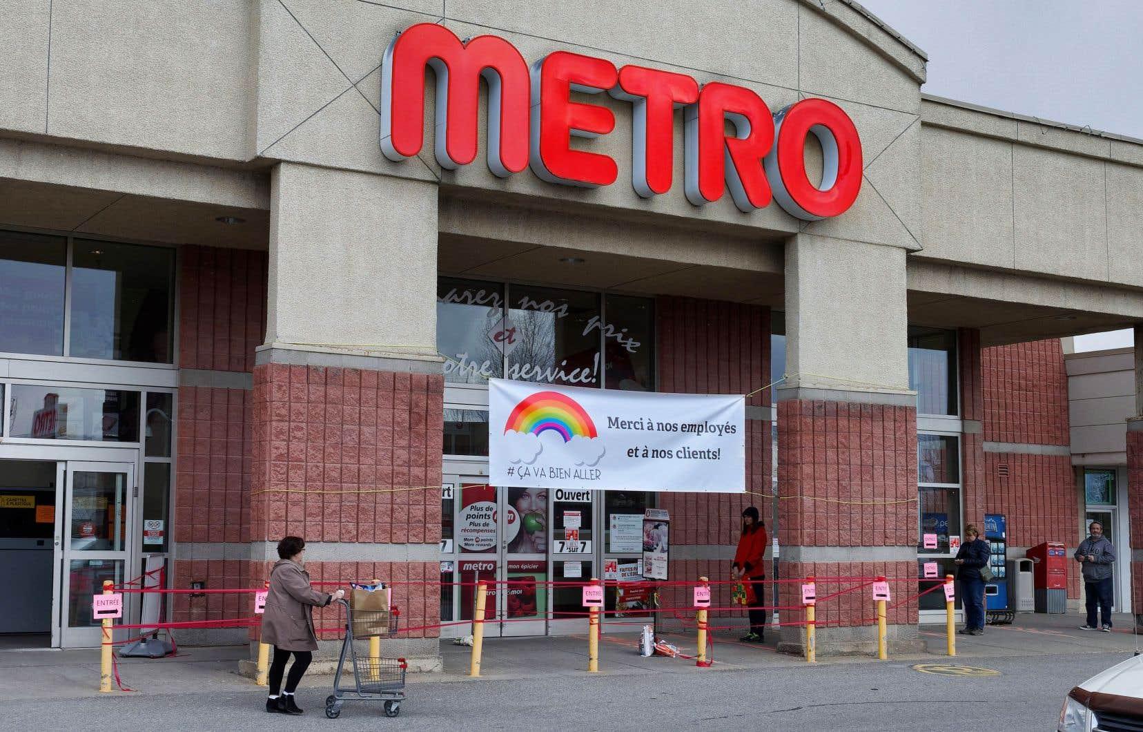 Les cartes-cadeaux seront offertes en février aux employés visés et seront valides pour des achats dans les enseignes de Metro.
