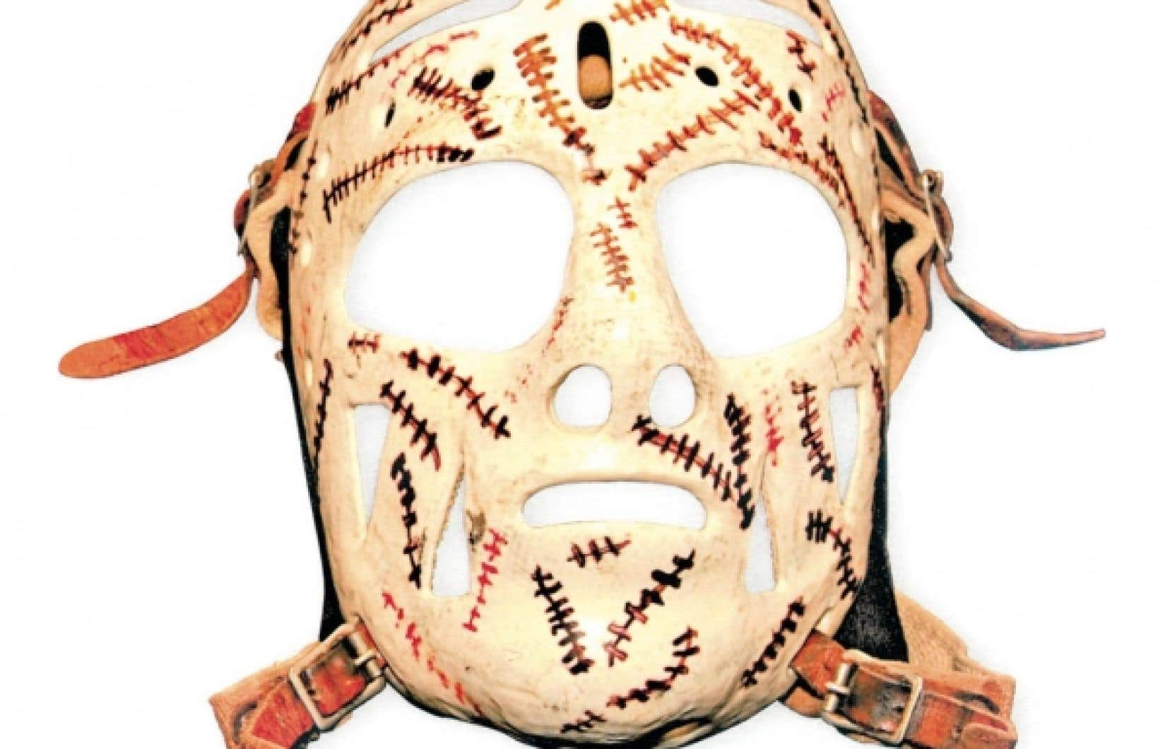 Le masque de Gerry Cheevers, conçu par John «Frosty» Forristall