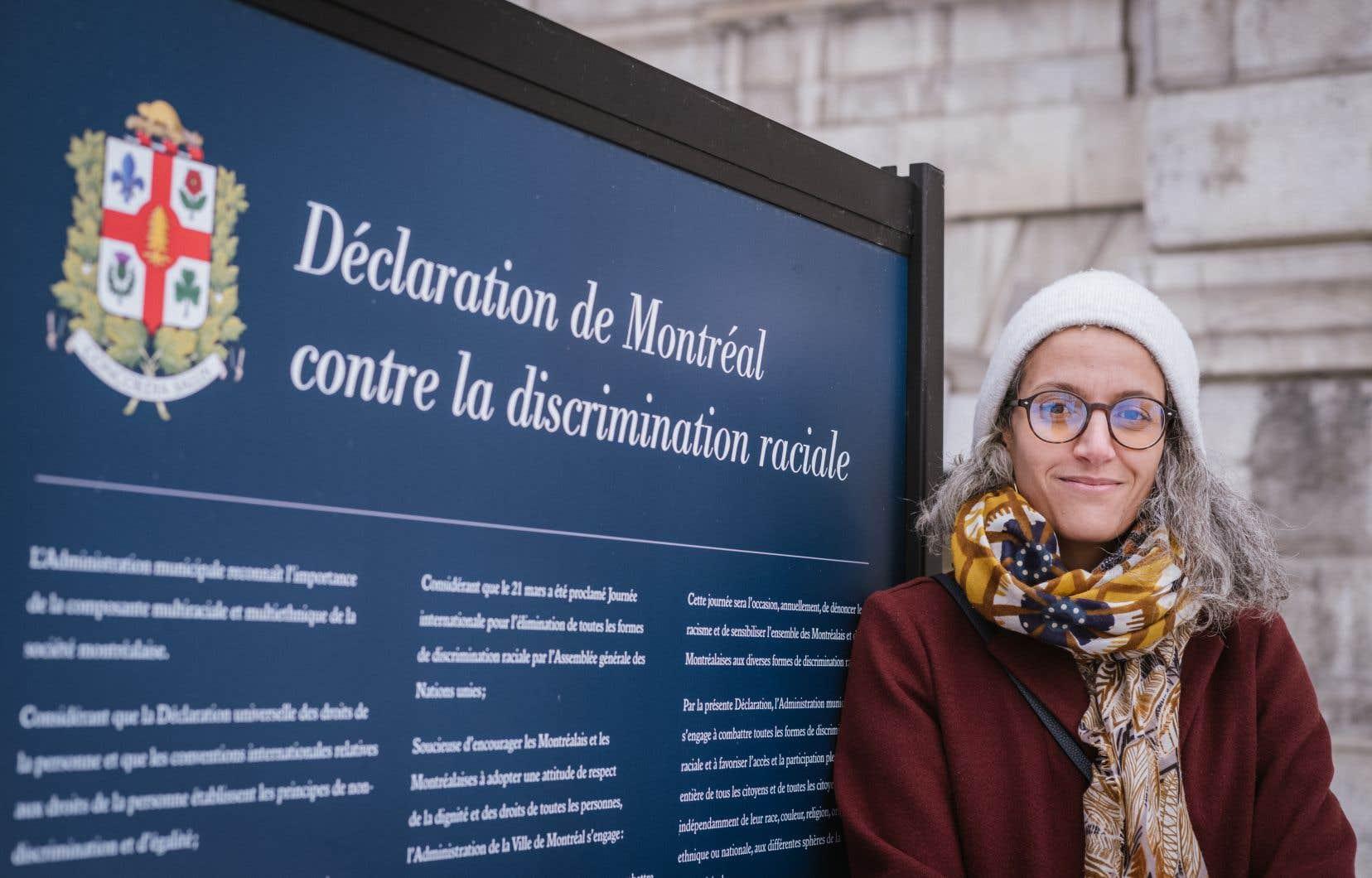 Valérie Plante a annoncé mercredi la nomination de Bochra Manaïau poste de commissaire à la lutte contre le racisme et la discrimination systémiques de la Ville de Montréal.