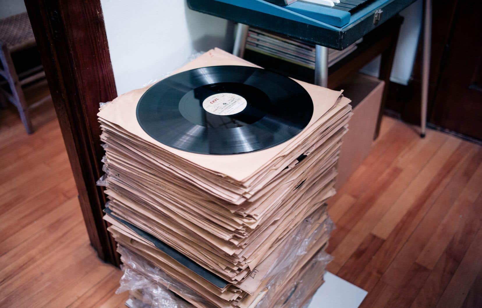 Sébastien Desrosiers se refuse à écouter ces archives, même s'il possède le matériel particulier nécessaire pour le faire. Les disques sont fragiles et n'étaient pas faits pour être joués plus de quelques fois.