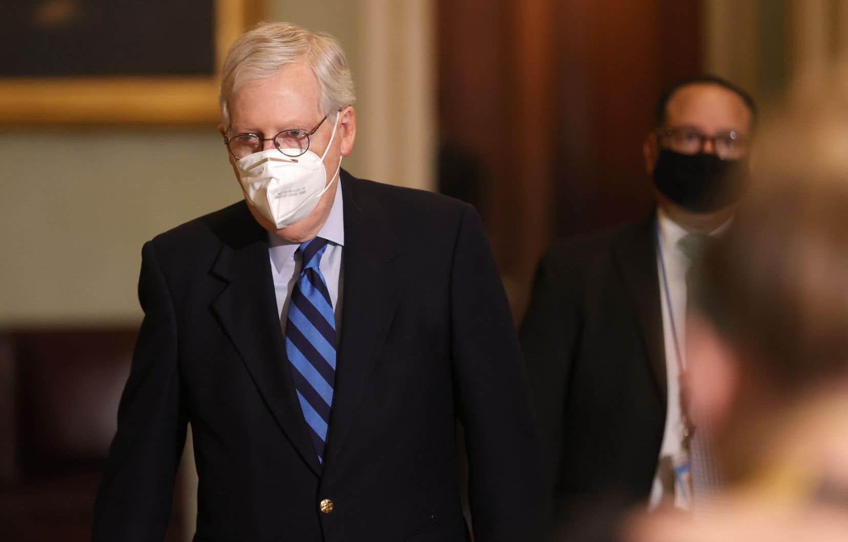 Assaut sur le Capitole: Trump a «incité» la foule, dit le chef républicain du Sénat