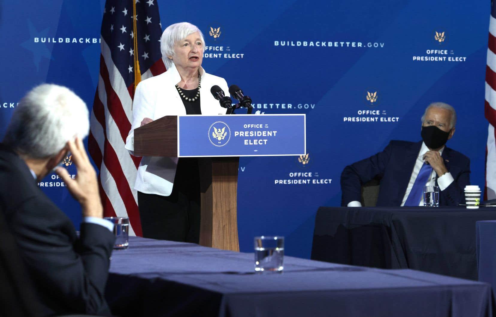 L'ancienne présidente de la Fed, Janet Yellen, sera la première femme à occuper la fonction de secrétaire au Trésor aux États-Unis.
