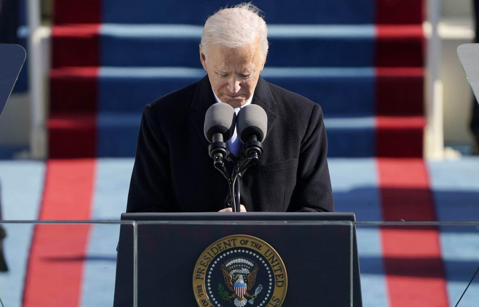 Le 46e président des États-Unis, Joe Biden