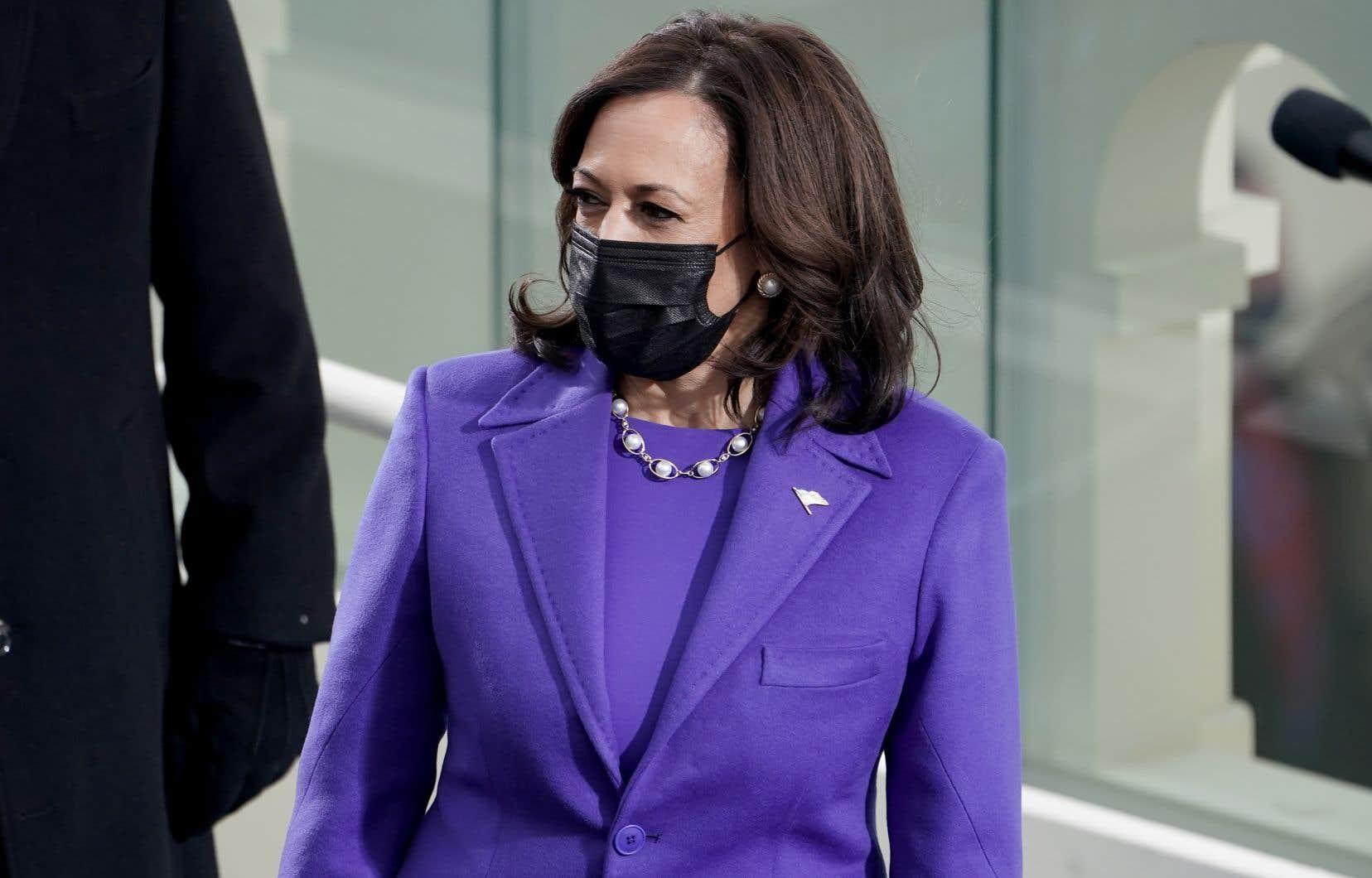 La Constitution américaine donne à la vice-présidente Kamala Harris le pouvoir de départager les votes à égalité au Sénat.