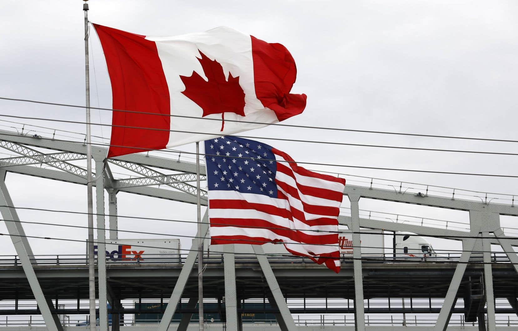 Le Canada et les États-Unis ont déjà des dispositions «d'achat national» tirées des accords commerciaux existants. Les achats militaires, par exemple, excluent les fournisseurs étrangers.
