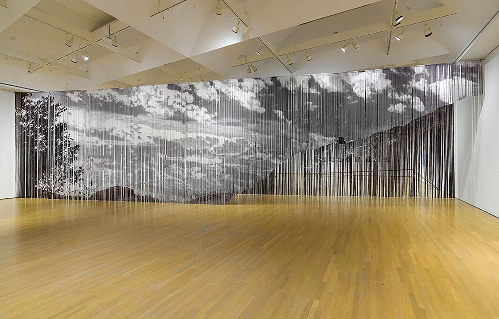Kelly Jazvac, «Browsing», 2017-2020. Une oeuvre tirée de l'exposition «La machine qui enseignait des airs aux oiseaux», au MAC.