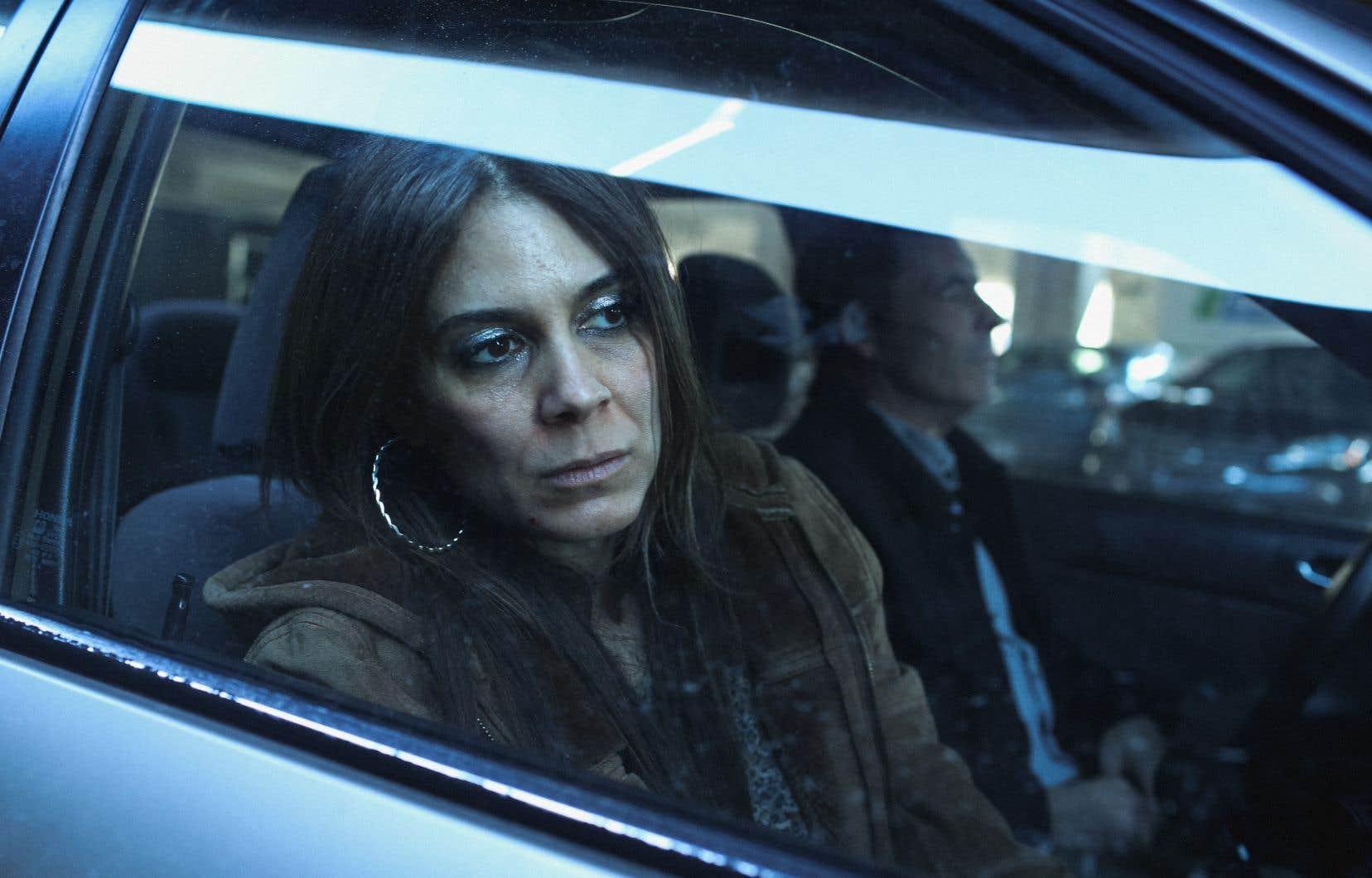 Julie Perreault dans la série «Je voudrais qu'on m'efface», une adaptation du roman d'Anaïs Barbeau-Lavalette