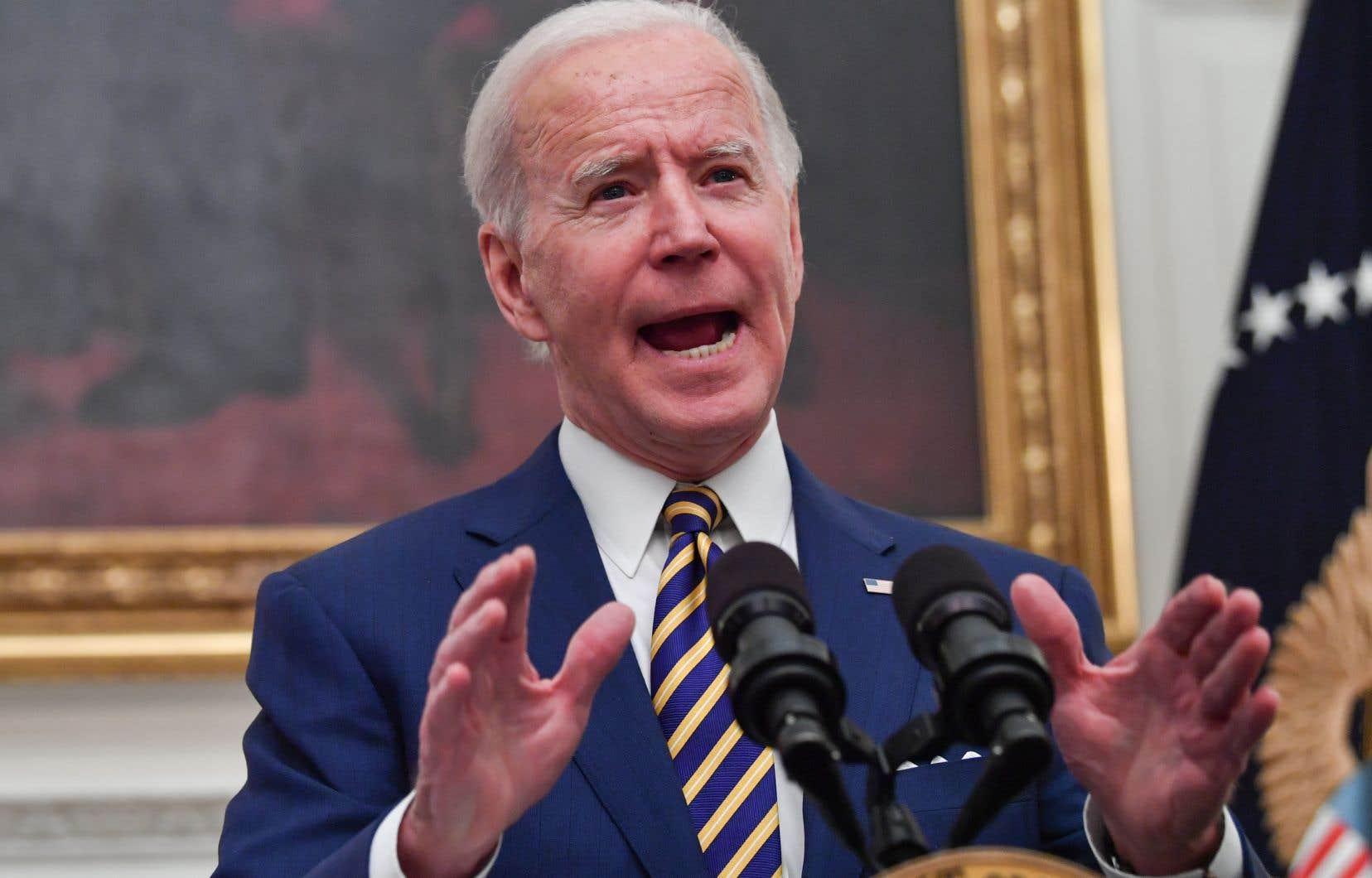 Le président américain, Joe Biden