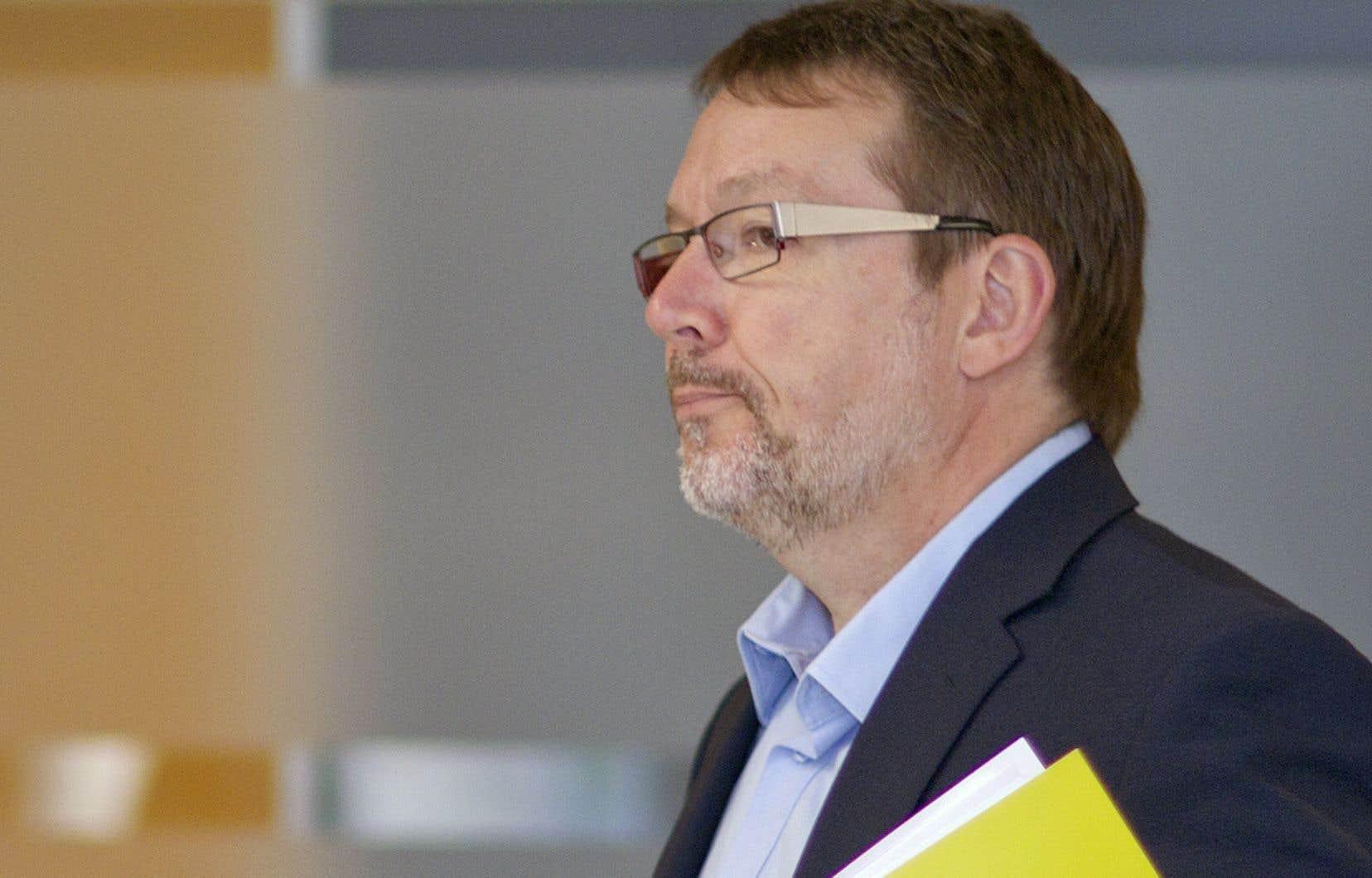 L'ancien journaliste et ex-directeur de l'Institut du Nouveau Monde (INM) Michel Venne