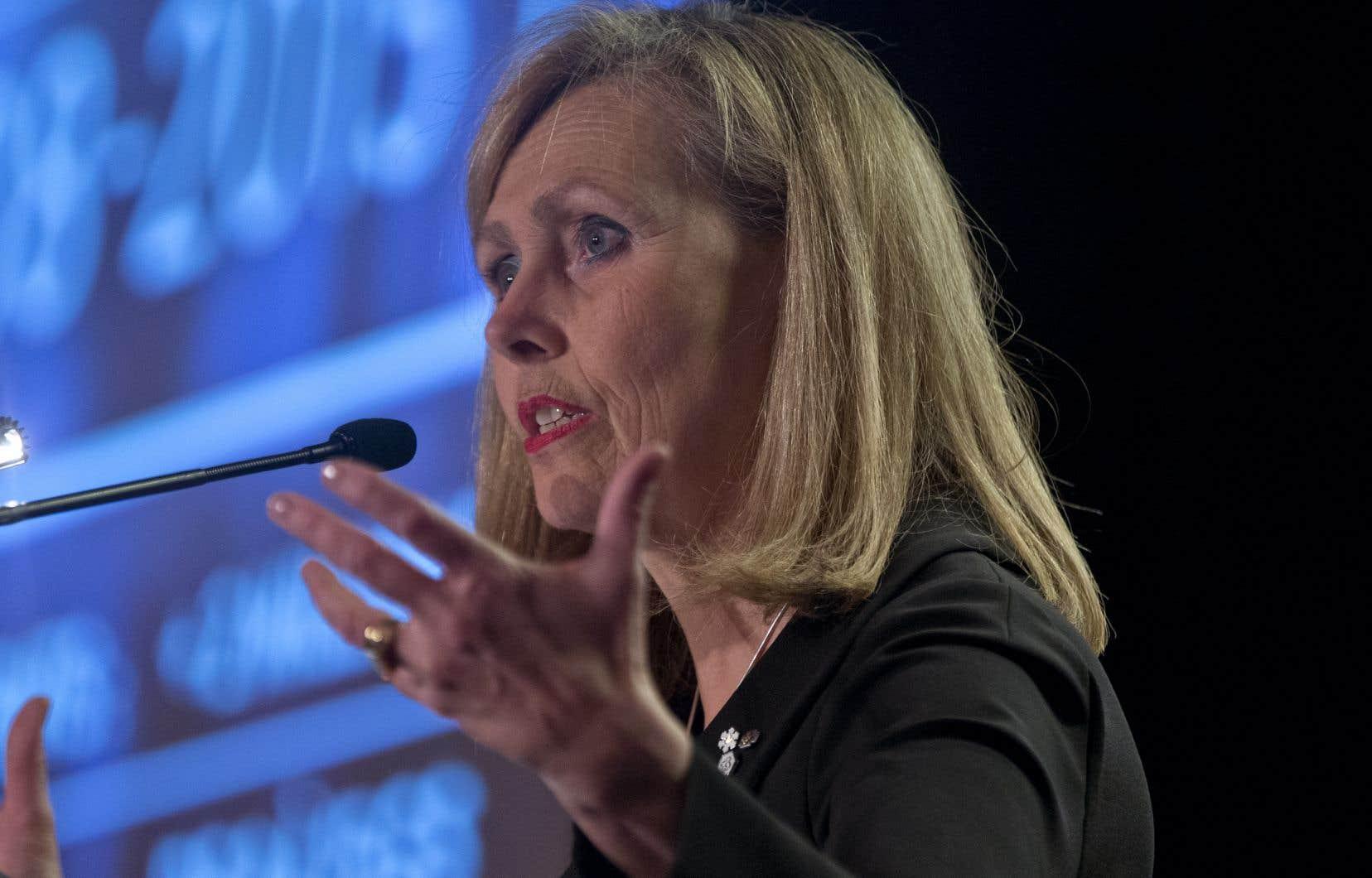 Autre point positif pour le Canada, selon Monique Leroux: les États-Unis ont réintégré l'Accord de Paris pour lutter contre les changements climatiques.