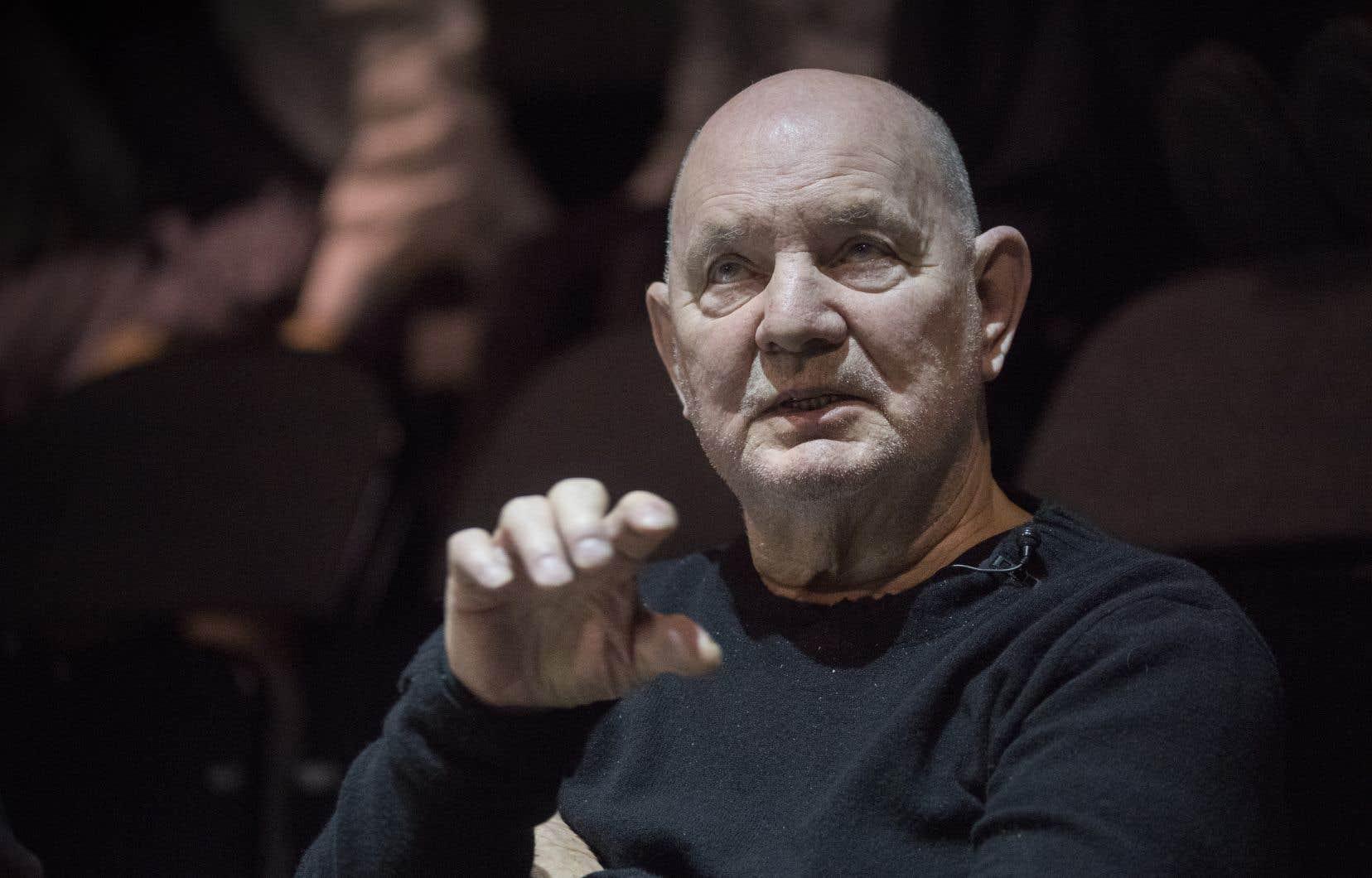 Le dramaturge Lars Norén en 2017