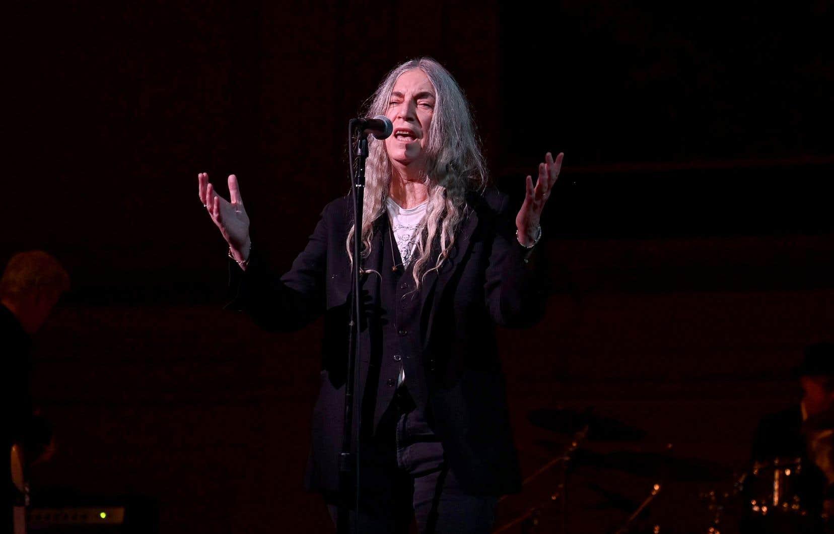 La chanteuse et poétesse Patti Smith participera à l'événement.