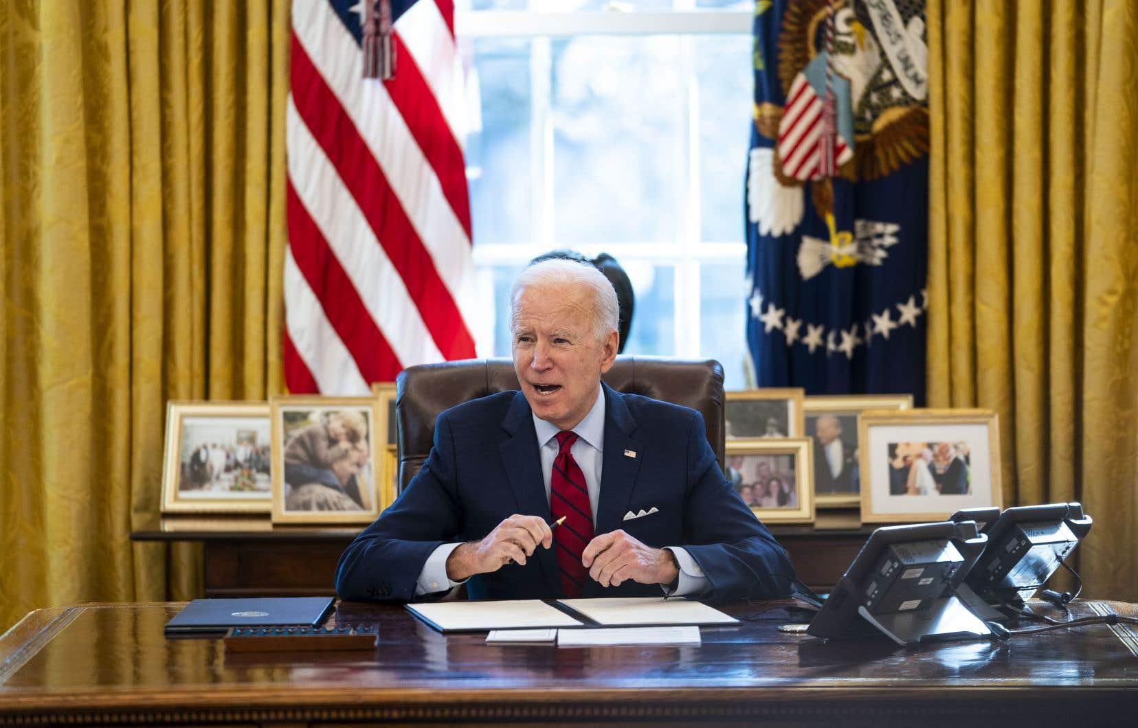 Joe Biden a annoncé jeudi le retour des aides américaines aux associations étrangères facilitant l'accès des femmes aux IVG.