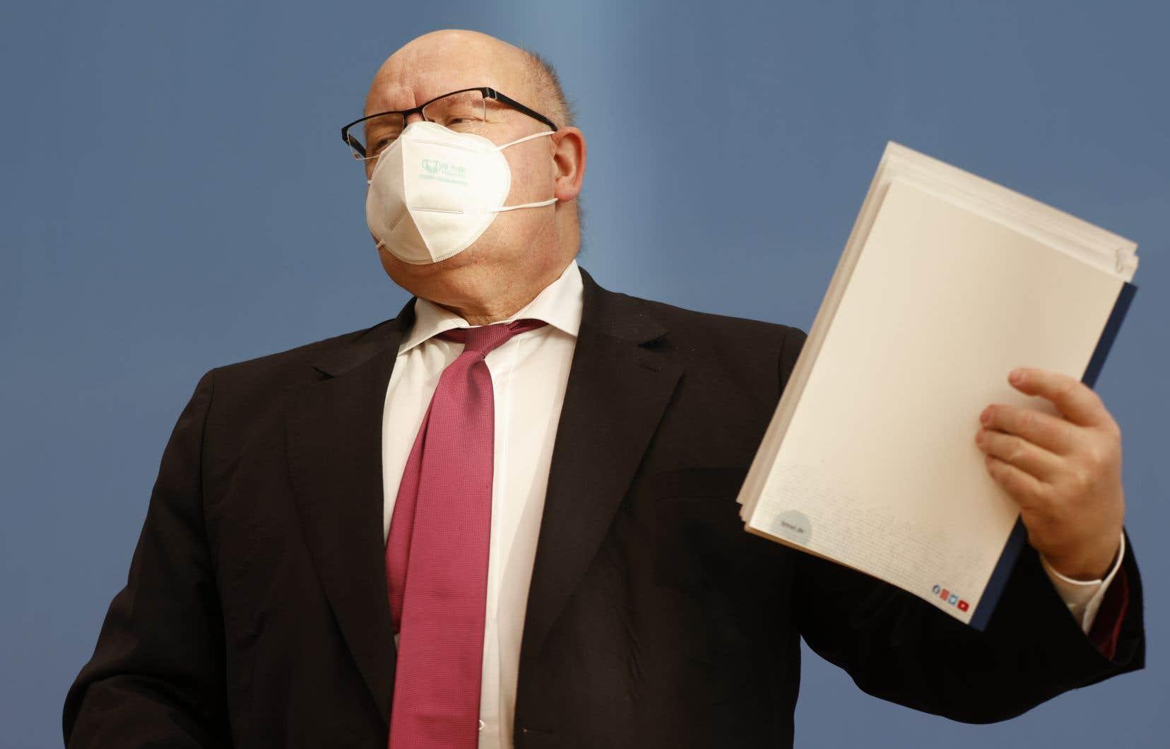 «S'il s'avère que des entreprises n'ont pas respecté leurs obligations, nous devrons décider de conséquences judiciaires», a menacé le ministre allemand de l'Économie, Peter Altmaier.