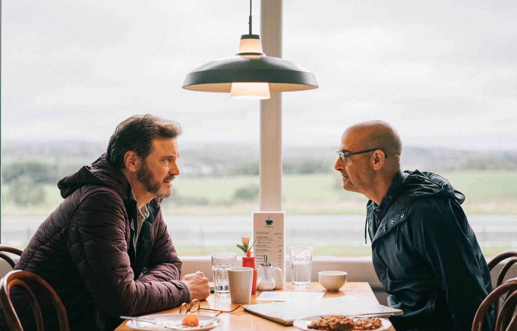 Tout d'intériorité, de connivence silencieuse et d'occasionnels éclats, Colin Firth et Stanley Tucci sont fabuleux dans «Supernova».