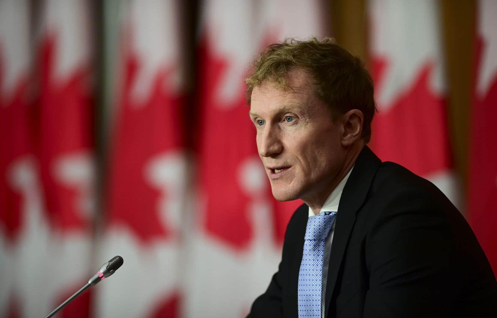 Le ministre fédéral des Services aux Autochtones, Marc Miller