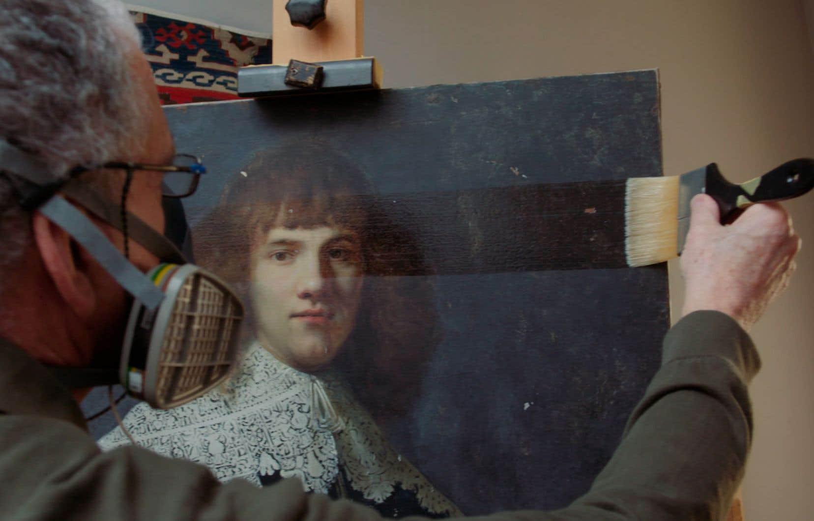 Réalisé par Oeke Hoogendijk, «My Rembrandt» offre une visite guidée dans ce qui s'avère presque un monde parallèle.