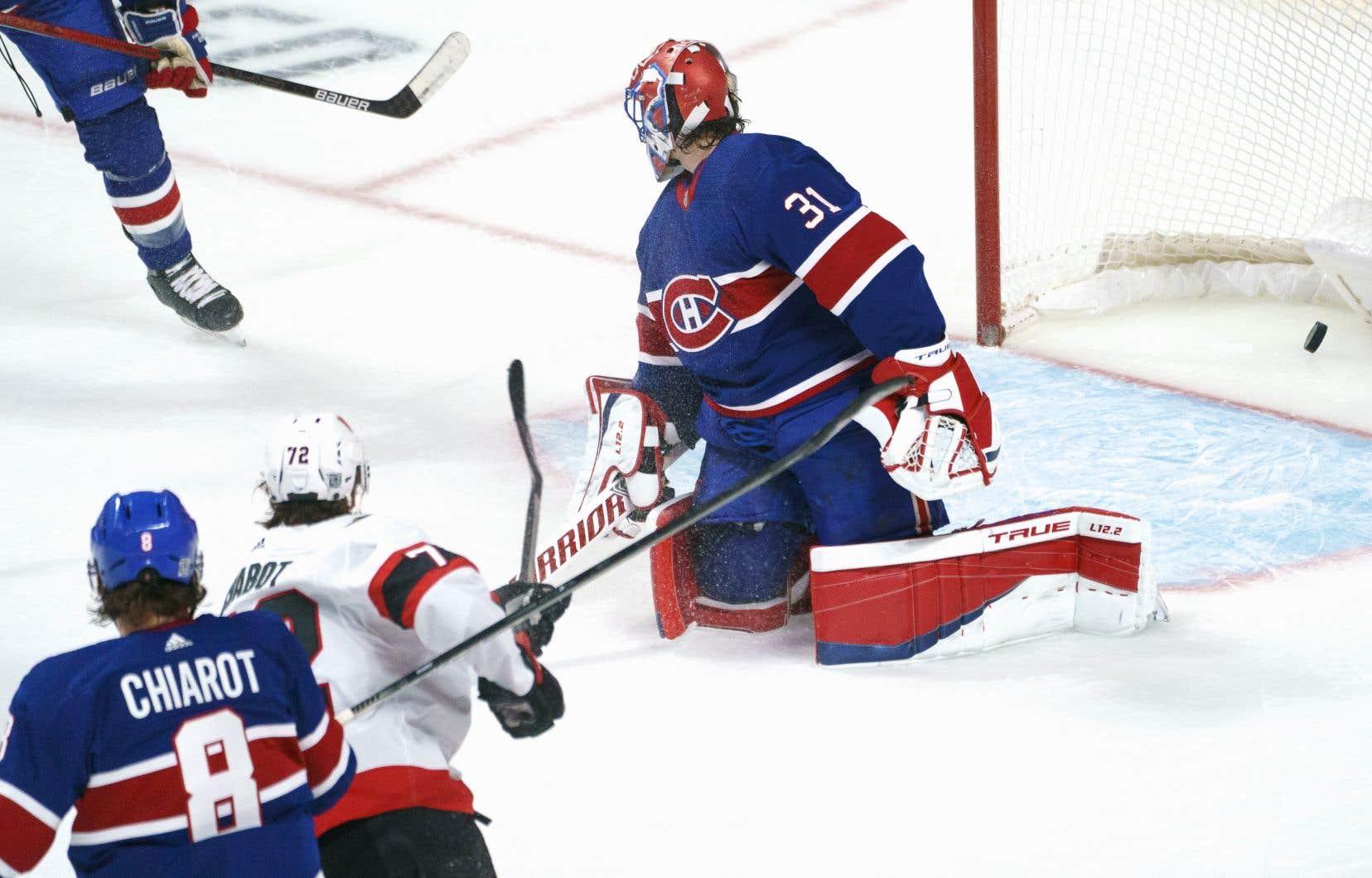 Le Canadien a perdu 3-2 face aux Sénateurs, jeudi soir.