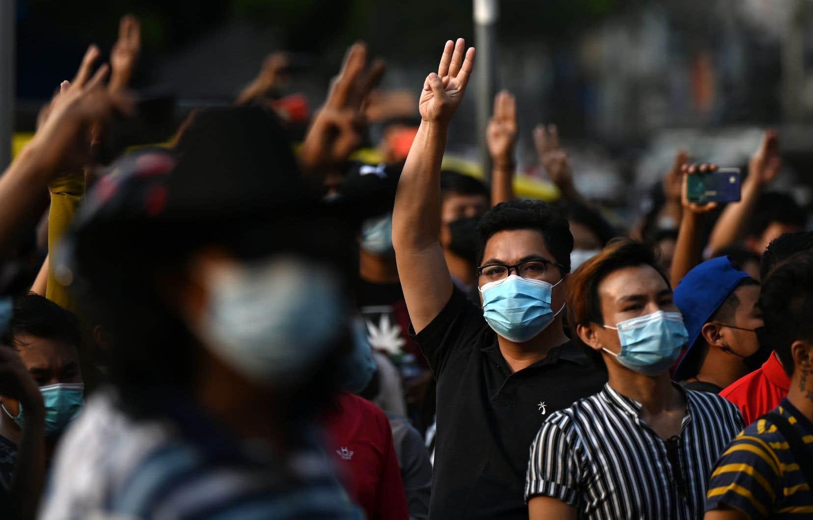 Il s'agit duplus gros rassemblement depuis le coup d'État contre Aung San Suu Kyi.