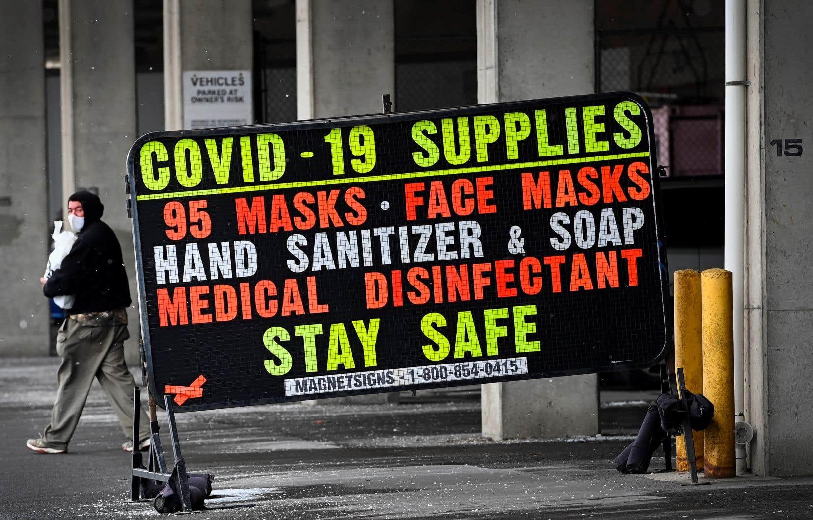 L'Ontario a rapporté dimanche 1490 nouveaux cas de COVID-19 et 22 décès liés à la maladie.