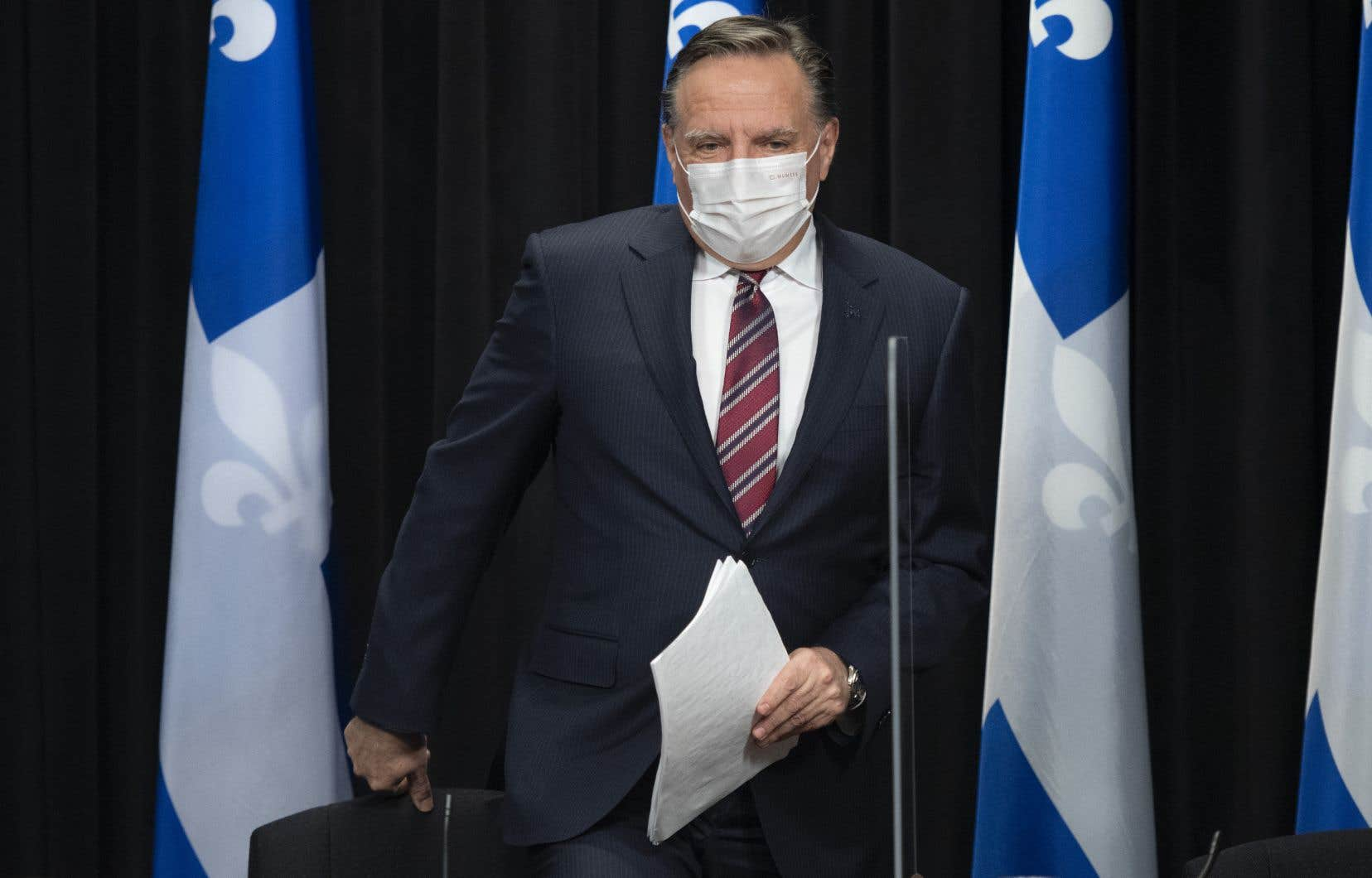 Le premier ministre François Legault fait le point sur la pandémie de COVID-19.