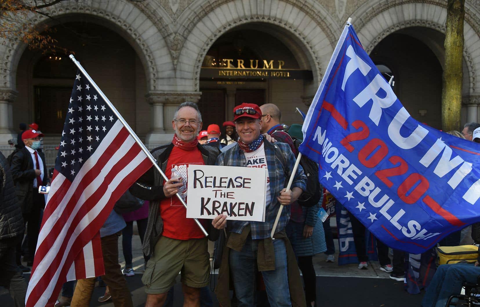 À l'approche du 4 mars prochain, date annoncée de nouvelles manifestations des fidèles de l'ex-président, le Trump International Hotel de Washington a décidé de presque tripler le prix de ses chambres.