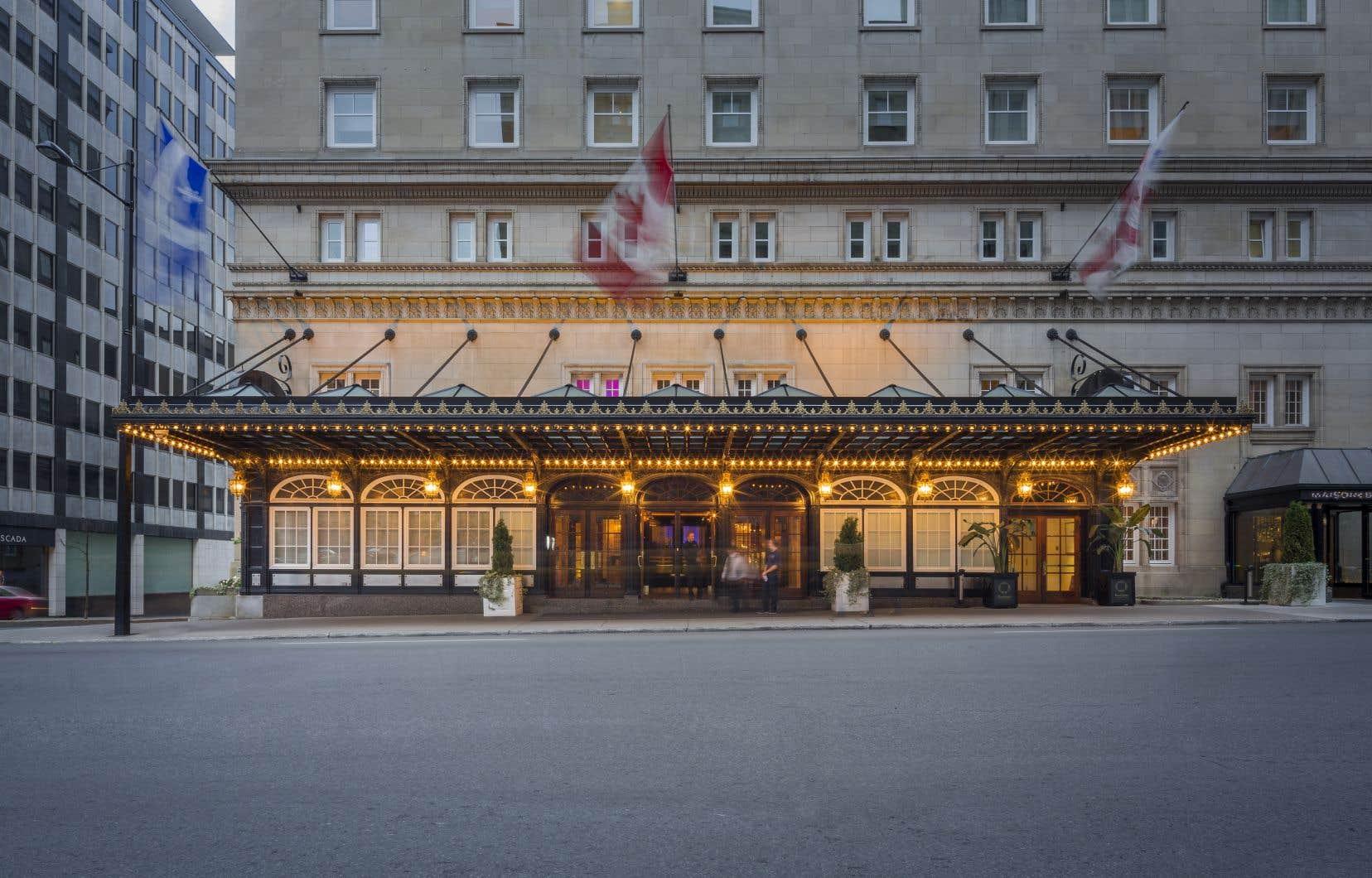 Les Montréalais ne comprennent peut-être pas que de grands hôtels comme le Ritz-Carlton, ouvert en 1912, sont de véritables parenthèses dans le temps, accessibles à quelques minutes de la maison.