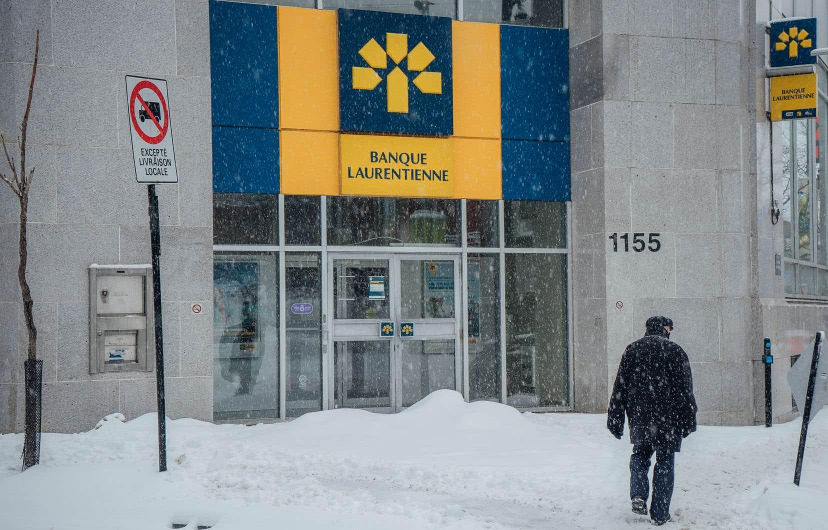 La Laurentienne, septième banque en importance au pays, est la seule à être syndiquée.