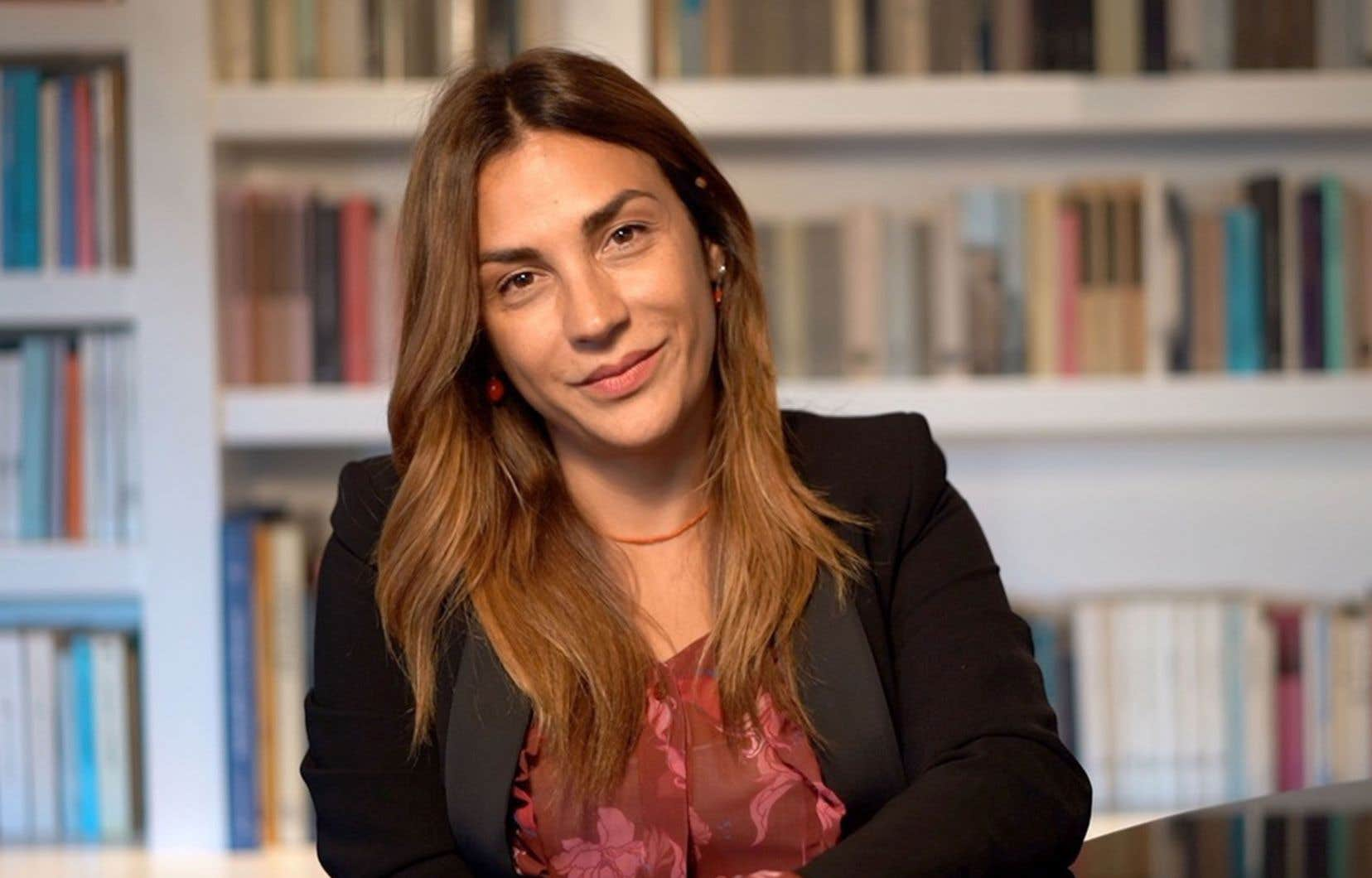 L'autrice Viola Ardone