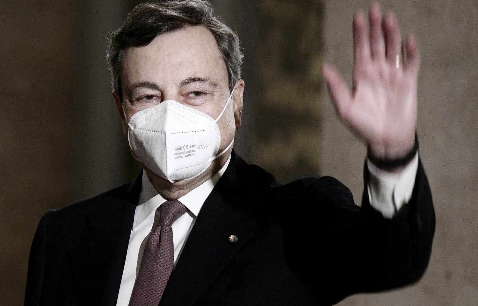 Ancien président de la Banque centrale européenne, MarioDraghi est surnommé «Super Mario» pour son rôle dans la crise de la dette de la zone euro en 2012.