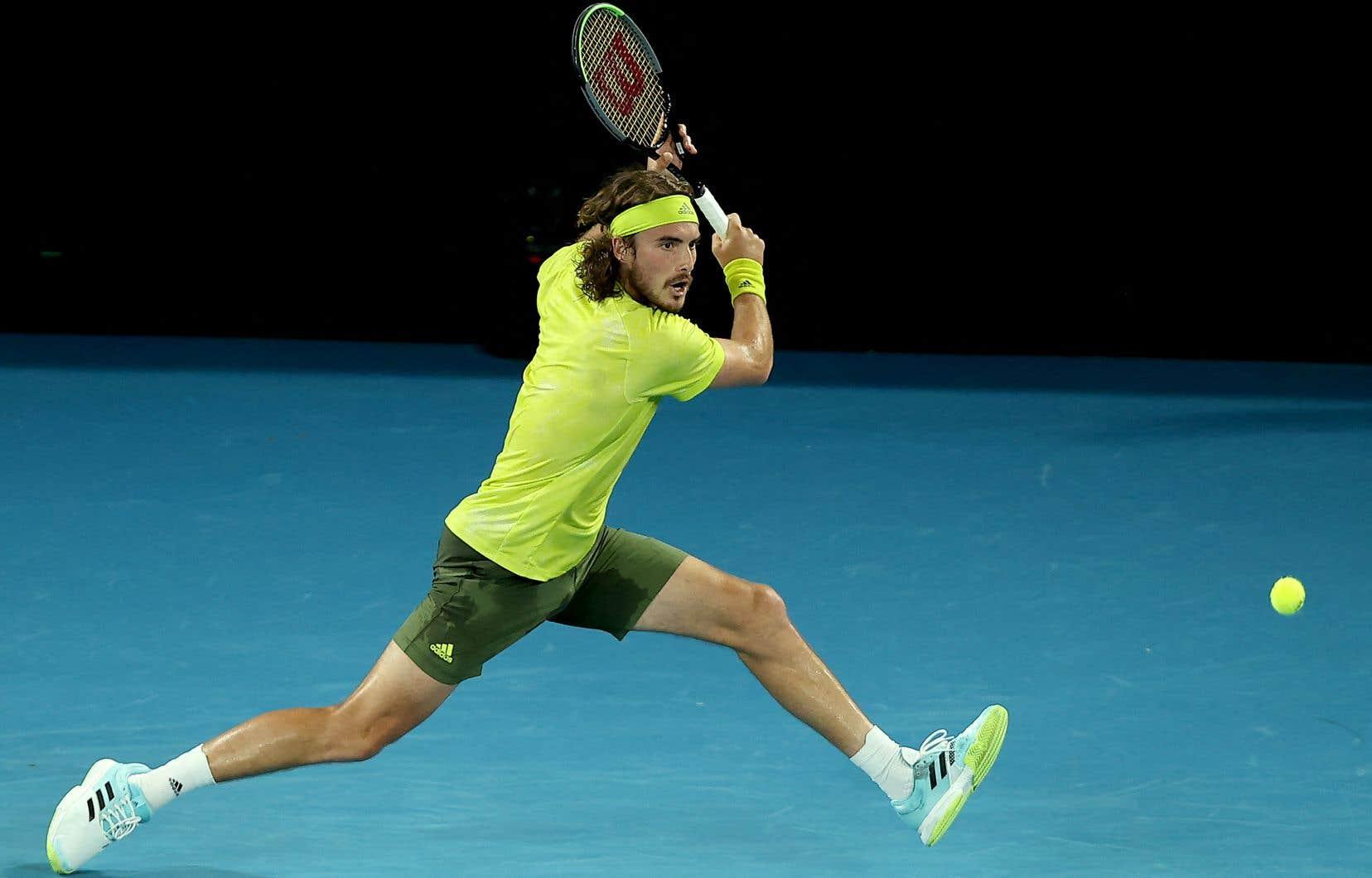 Selon Nadal, Tsitsipas a joué du tennis de «très, très haut niveau» au cours des deux derniers sets, alors que son jeu déclinait.