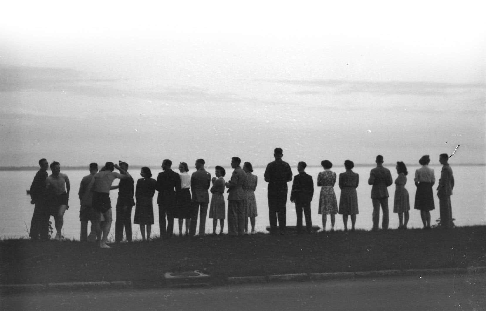 Photo datant du 17 juin 1942, prise par Conrad Poirier (1912-1968)