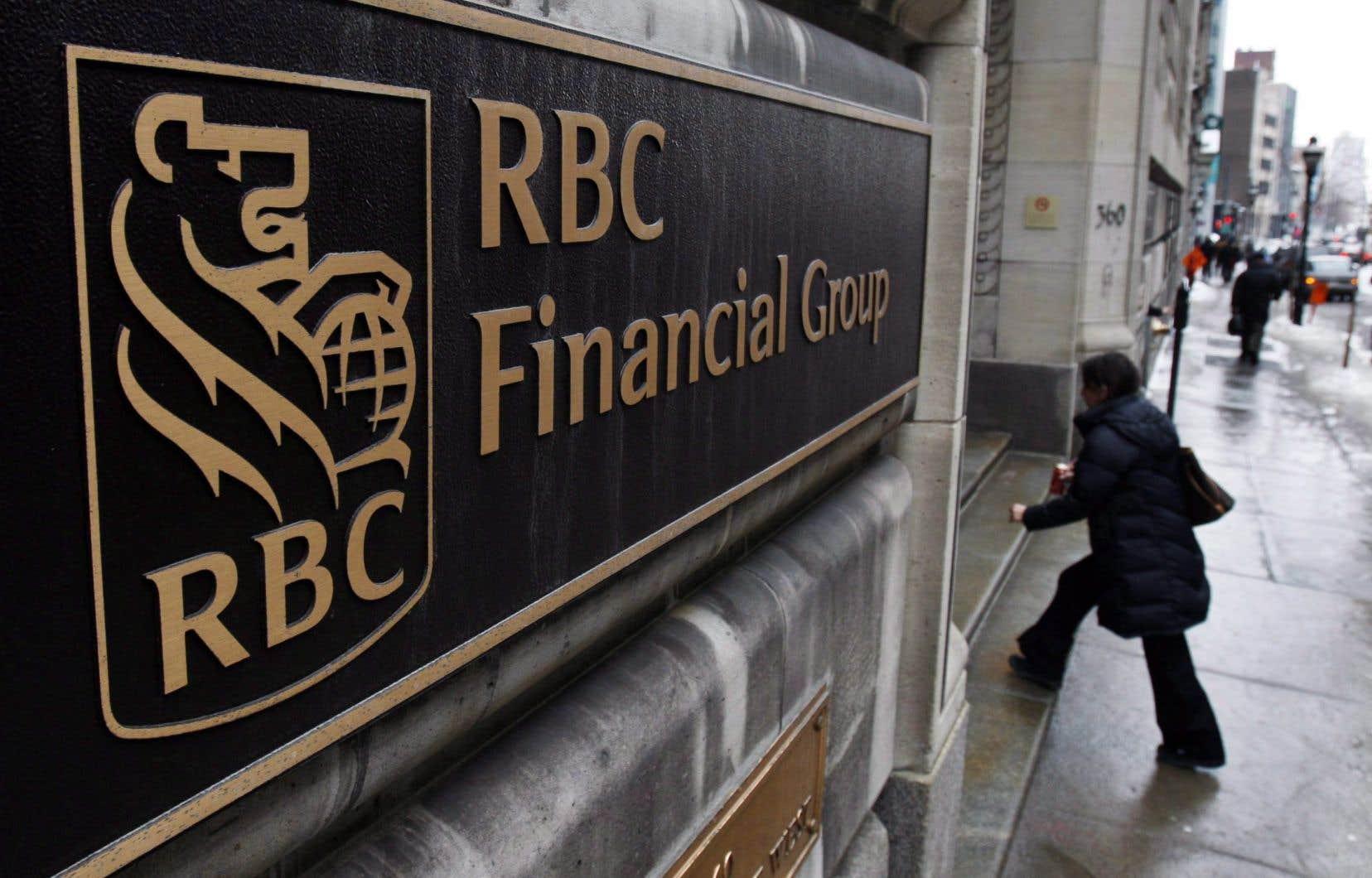 La Banque Royale a réalisé un bénéfice net de 3,85milliards, ou 2,66$ par action, au plus récent trimestre.