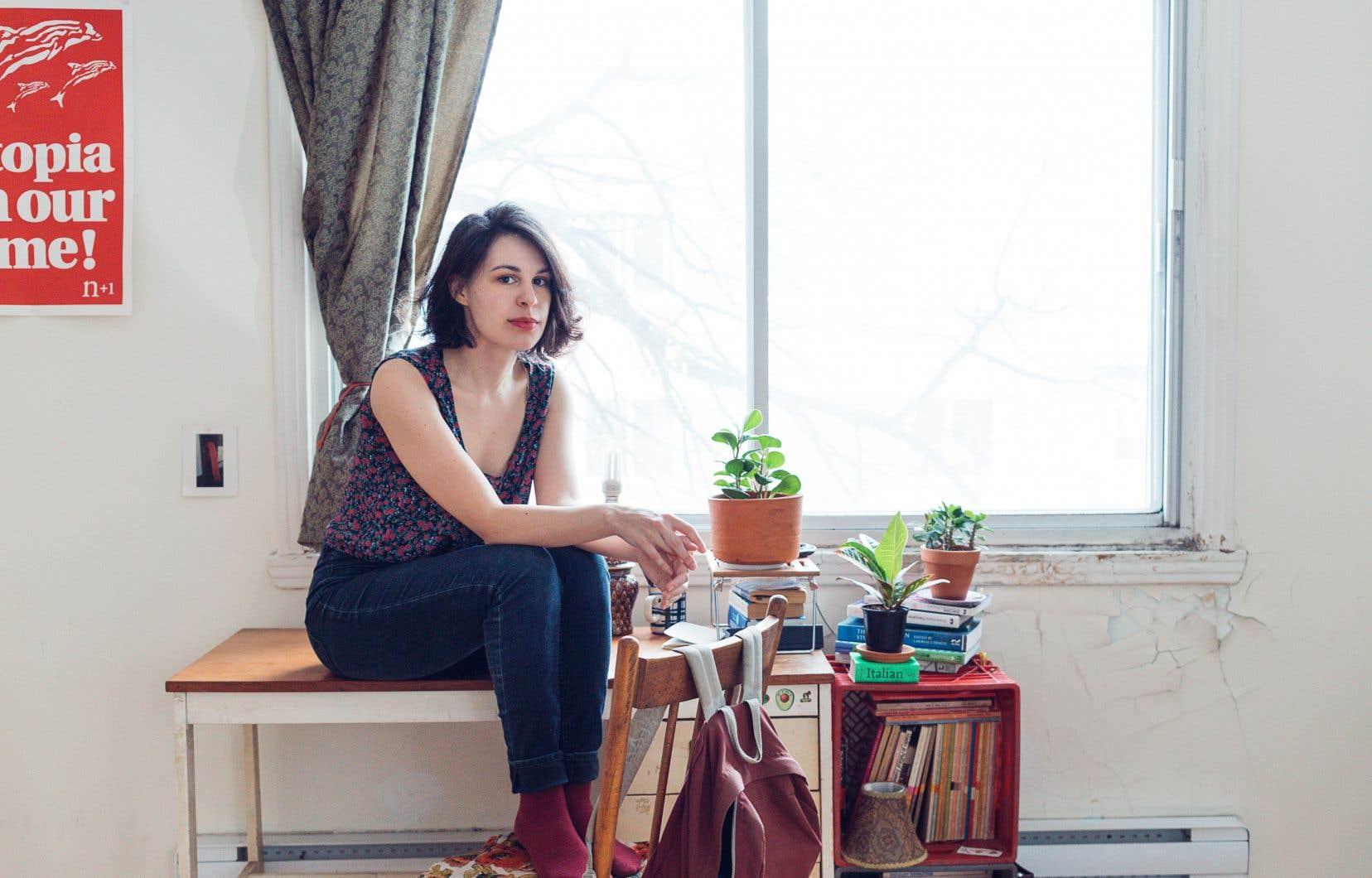 Catherine Fatima est reconnaissante du processus thérapeutique que lui a permis d'entreprendre l'écriture de son premier bouquin.