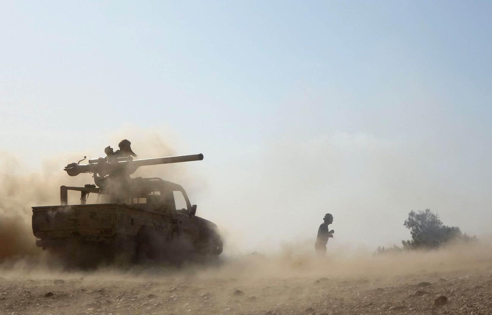 Les rebelles Houthis, qui tentent de s'emparer depuis plus d'un an de Marib, ont repris le 8février leur offensive contre ce dernier bastion sous contrôle du pouvoir dans le nord du pays en guerre depuis 2014.