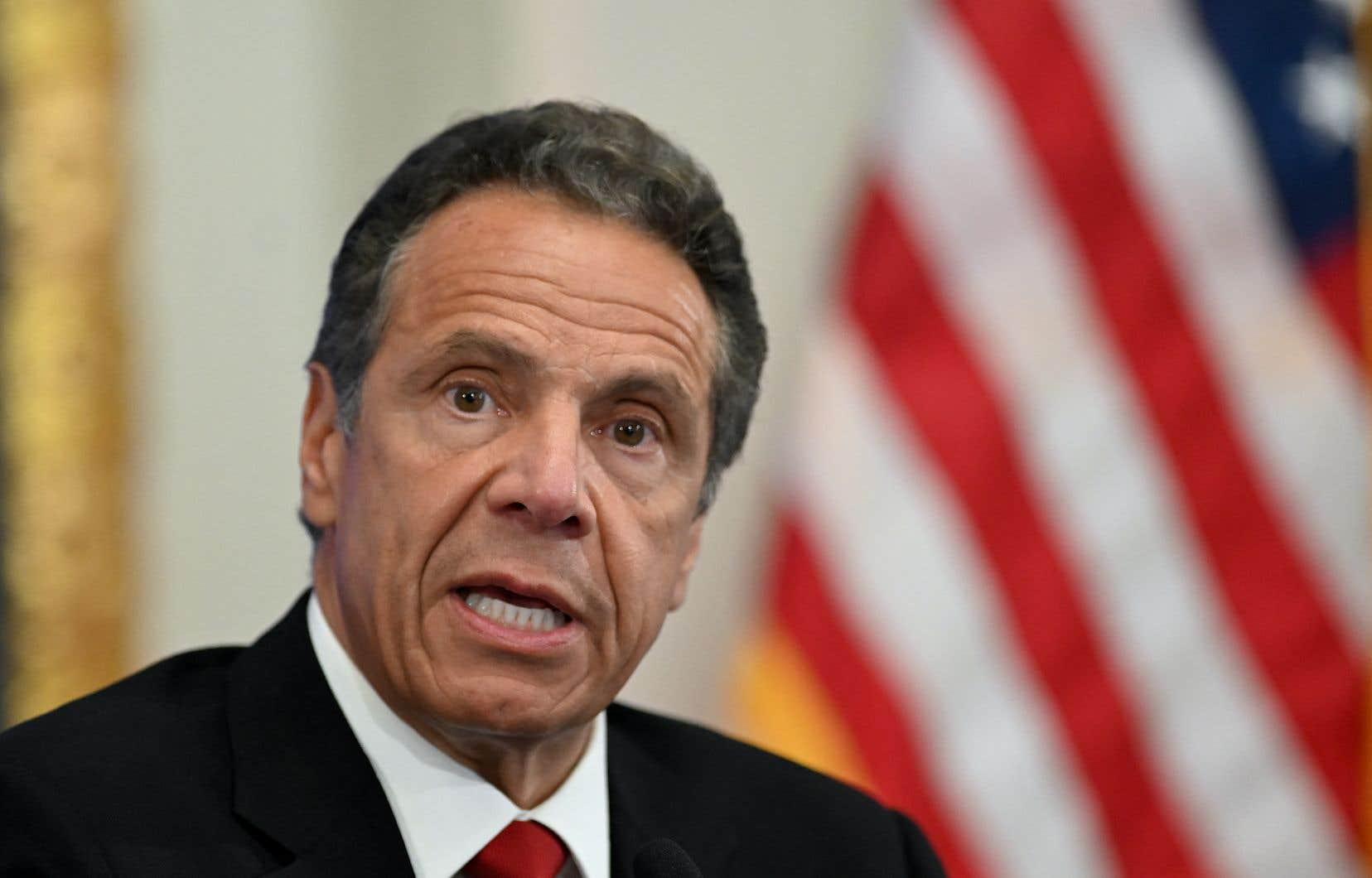 Le gouverneur de New York, Andrew Cuomo