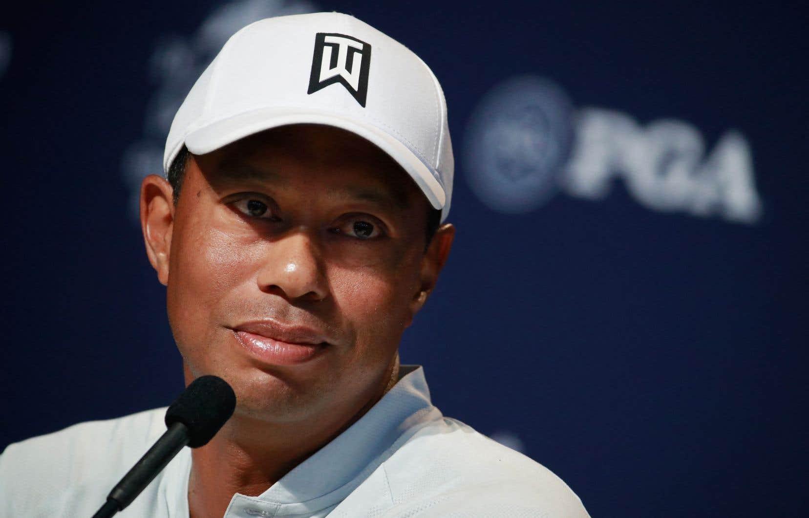 Tiger Woods en 2018