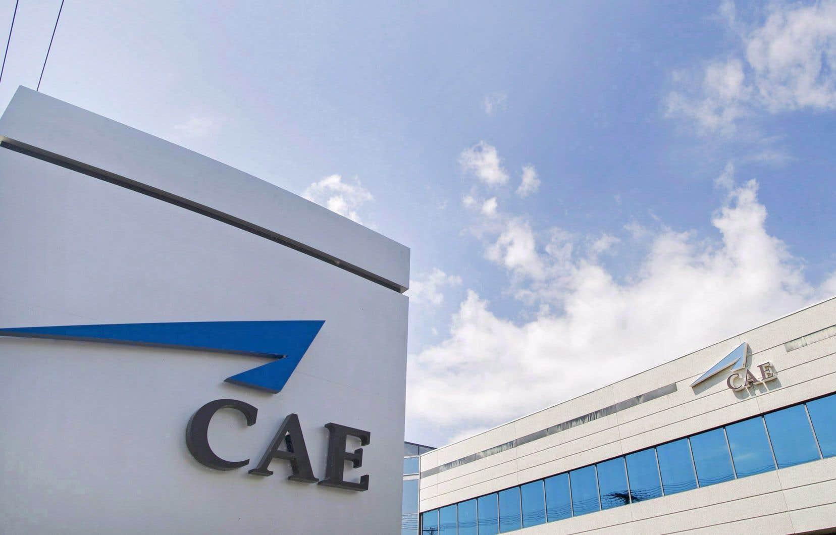 Le siège social de CAE Inc., situé à Montréal