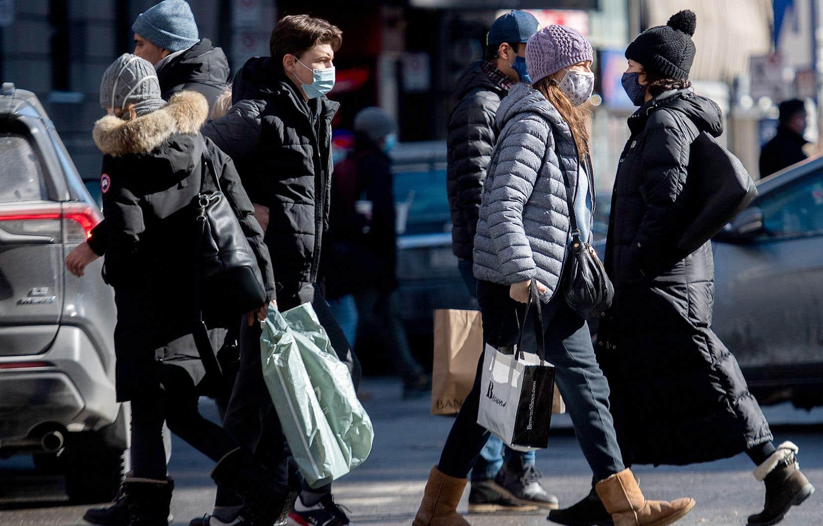 Un «certain plateau» dans le nombre de nouveaux cas quotidiens a été atteint dans la métropole, selon la directrice régionale de santé publique de Montréal, la Dre Mylène Drouin.