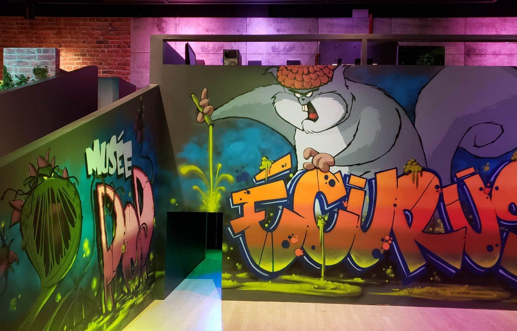 Pour les plus jeunes, le Musée POP a inauguré l'exposition temporaire <i>L'ADN des superhéros</i>. Ce parcours ludique propose une mission: aider le professeur Laforest à créer un antidote et sauver la ville de Trois-Rivières.