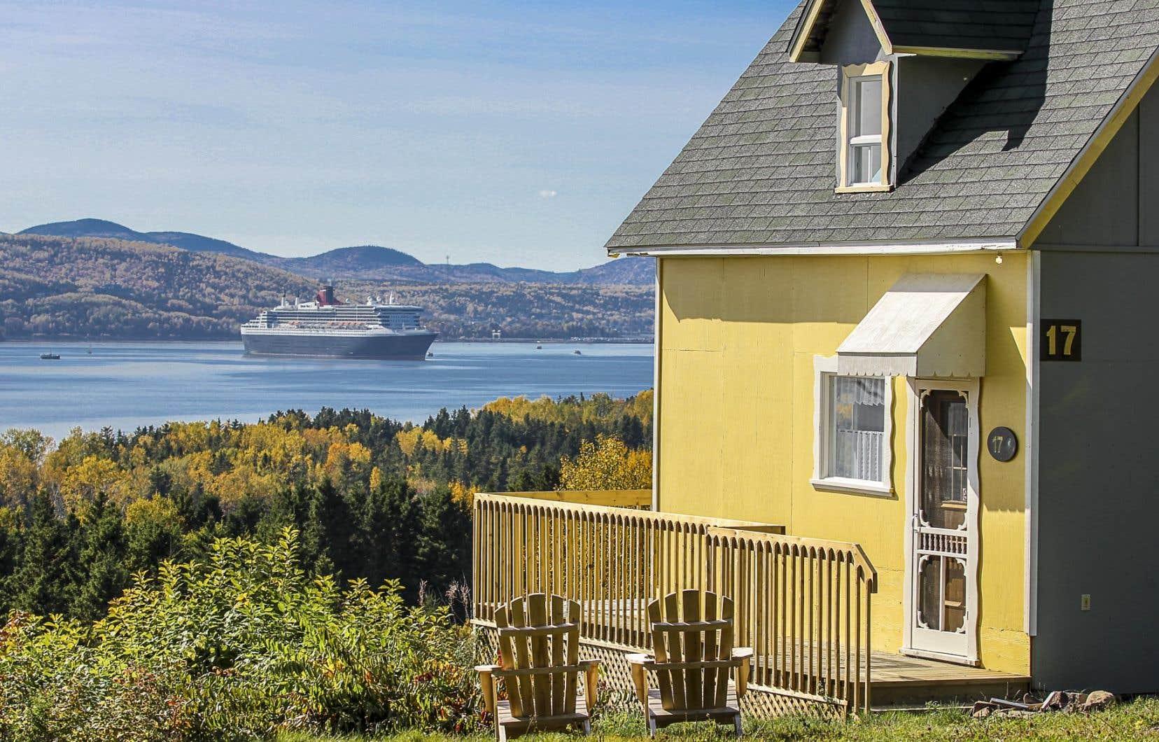 Depuis 2004, RSVPchalets loue aux Québécois des propriétés pour les vacances, surtout dans l'est du Canada (dont la région de la Gaspésie en photo).