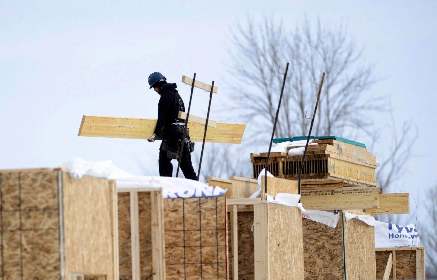 Dans les différents secteurs résidentiels, des records ont été établis au Québec, en Ontario, au Nouveau-Brunswick et au Manitoba.