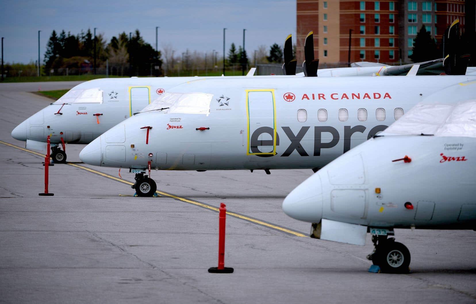 Sky Regional était associé à Air Canada pour exploiter des vols le long des routes régionales au pays et aux États-Unis, sous la marque Air Canada Express.