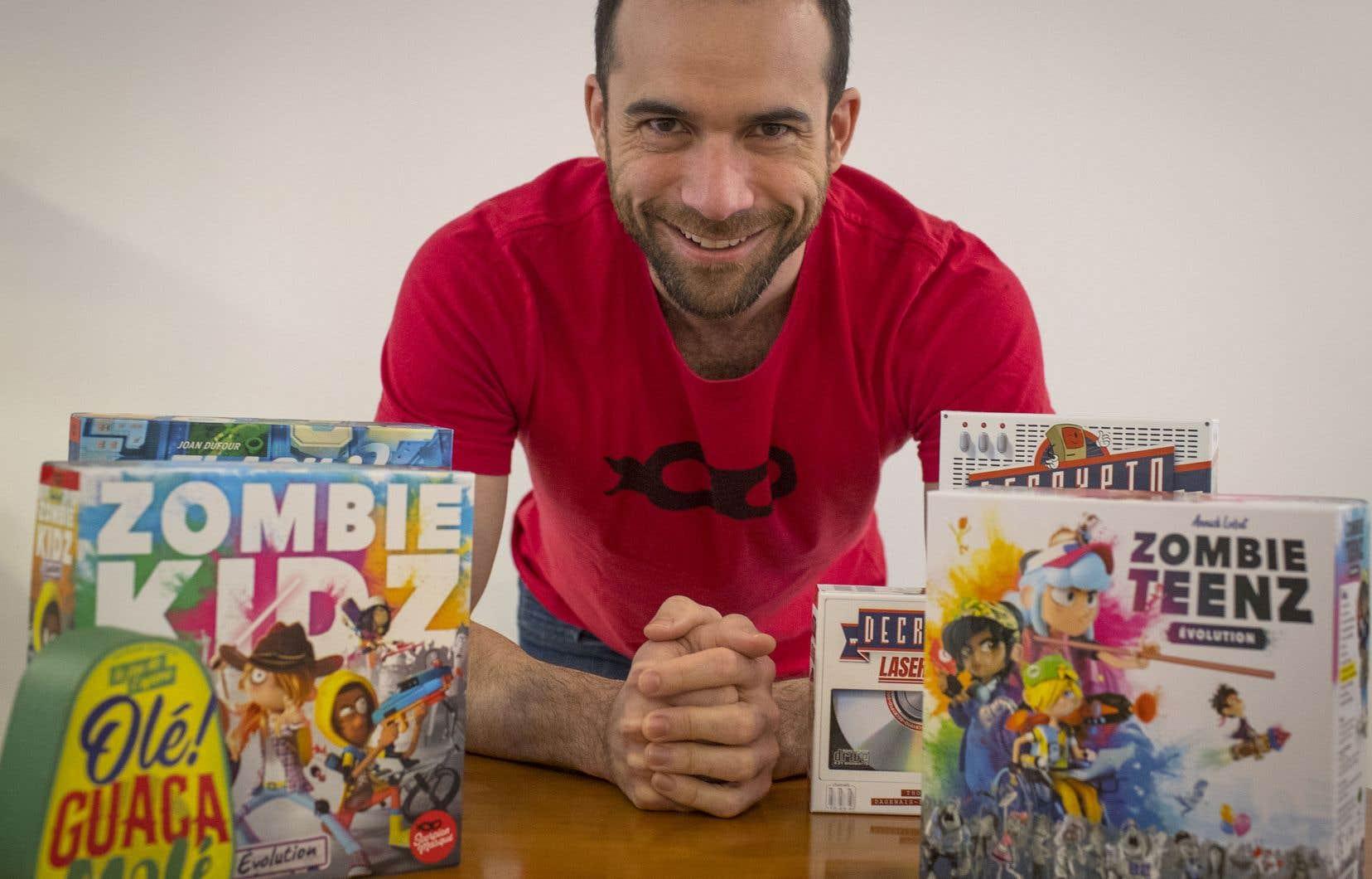 Christian Lemay, fondateur de Scorpion masqué, souhaite consacrer plus de temps à sa passion, la création de jeux de société.
